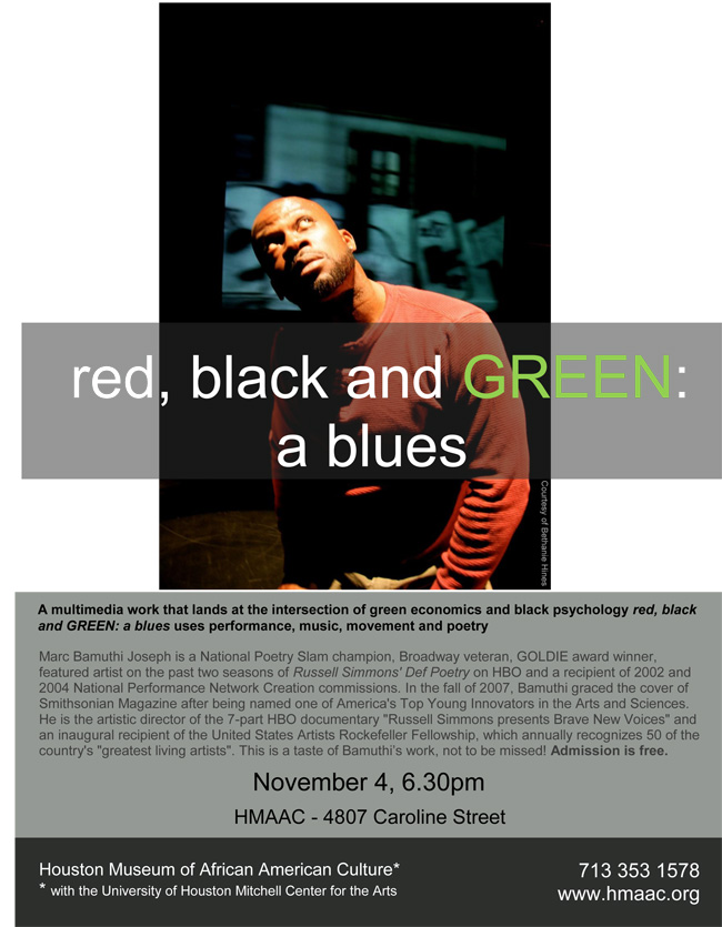 red, black & GREEN: a blues preview